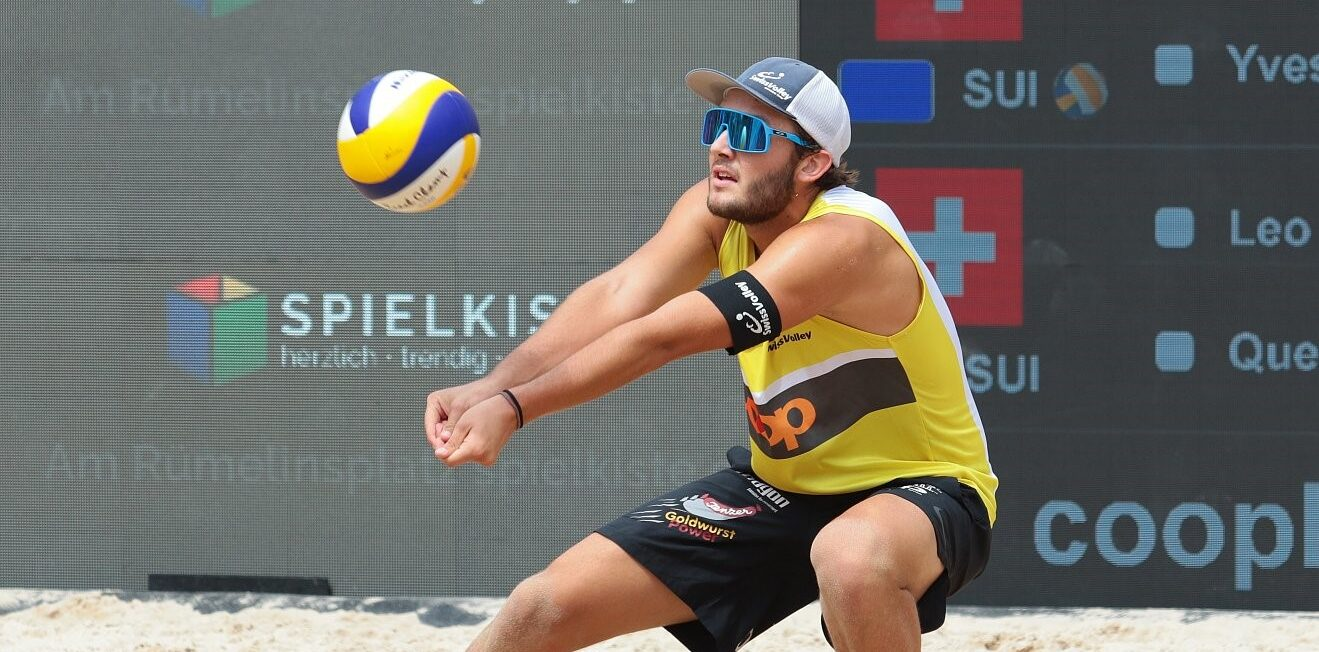 Leo Dillier neu im Beachvolley-Nationalteam